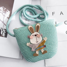 Load image into Gallery viewer, Hand Made Knitted Girl Sling Bag