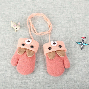 Cute Bear Baby Gloves