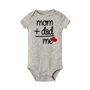 Dad + Mom short sleeve Romper Outfit