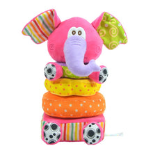Load image into Gallery viewer, Baby Elephant Stack Plush toy