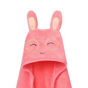 Cute Baby Towel Hooded Bathrobe