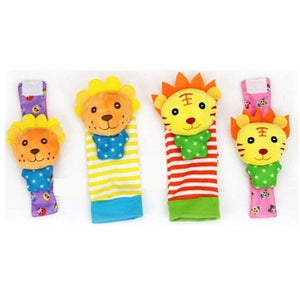 Lovely Cartoon Infant Soft Socks