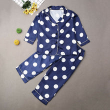Load image into Gallery viewer, Boys Girls Kids Cartoon Dot Pajama Set