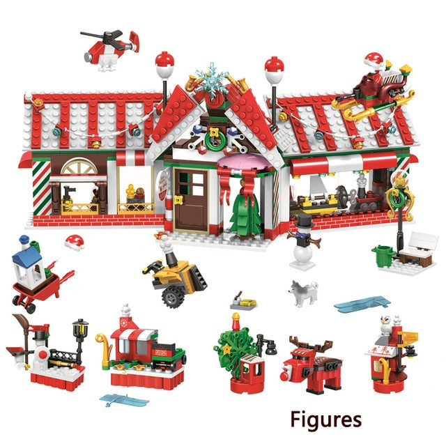 Christmas Bricks Toys