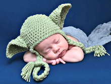 Load image into Gallery viewer, Crochet Baby Costume Newborn