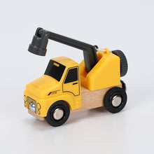 Load image into Gallery viewer, Wood Magnetic Car Toy
