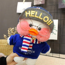 Load image into Gallery viewer, White LaLafanfan Duck Plush Toy