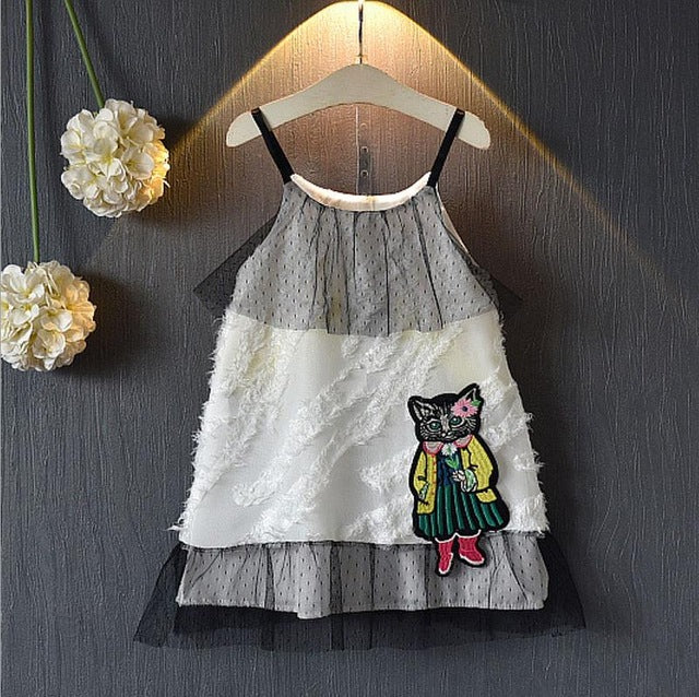 Été New Cute Girls Clothing Dress