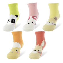 Load image into Gallery viewer, 5 Pairs Long Colorful Socks