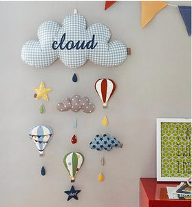 Wall Hanging Kids Room Decoration Clouds Style