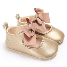 Load image into Gallery viewer, Princess Shoes Bow Bandage Infant Pre-walker