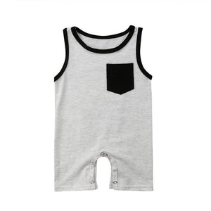 Baby Sleeveless Jumpsuit Clothes