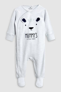 I love my DADDY bear / MUMMY'S little tiger Baby rompers