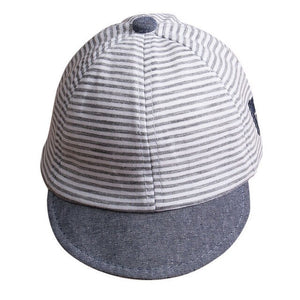Summer Strip Casual Flat Cap