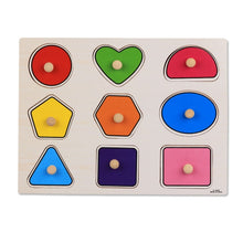 Load image into Gallery viewer, Hand Grab Wooden Educational Puzzle
