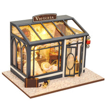 Load image into Gallery viewer, Dollhouse With Furniture Wooden House For Children