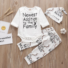 Load image into Gallery viewer, Newborn 3PCS Baby Clothes Sets