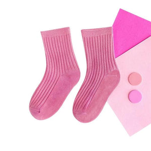 Cotton Colorful Long Socks For girls