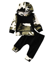 Load image into Gallery viewer, Casual Baby Toddler Hooded Tops And Pants