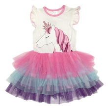 Load image into Gallery viewer, Unicorn Princess Summer Dress