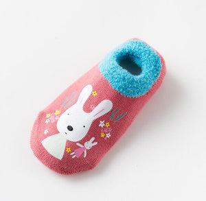 Baby Rubber Slip Resistant Floor Socks Shoes