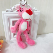 Load image into Gallery viewer, Pink Panther Cute Stuffed Toy Key Chain