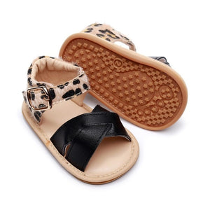 Summer Sandals PU Leather Non slip Rubber Shoes
