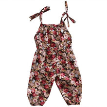 Load image into Gallery viewer, Cute Flower Romper Sleeveless Sunsuit Clothes