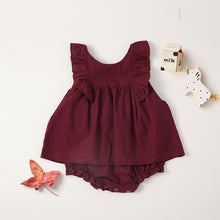 Load image into Gallery viewer, Toddler Girls Sleeveless Summer Dress