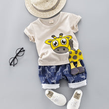 Load image into Gallery viewer, Giraffe Clothes Set