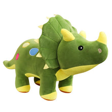 Load image into Gallery viewer, Big Soft Triceratops Plush Toy