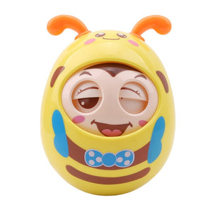 Roly Poly Rattle Blinking Bee