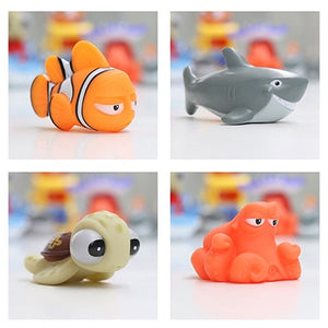 Soft Rubber Float Spray Water Squeeze Bath Toys