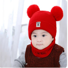 Load image into Gallery viewer, 2 Pieces Baby Beanies