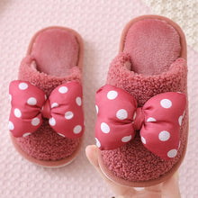 Load image into Gallery viewer, Kids Velvet Slippers