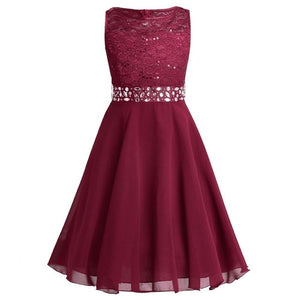 Princess Sequined Summer Dress