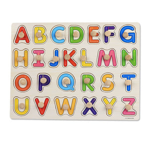 Hand Grab Wooden Educational Puzzle