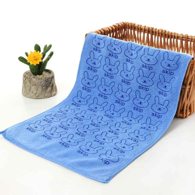 Microfiber Absorbent Drying Bath Washcloth