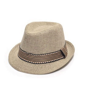 Casquette Jazz Fashion Straw Hat