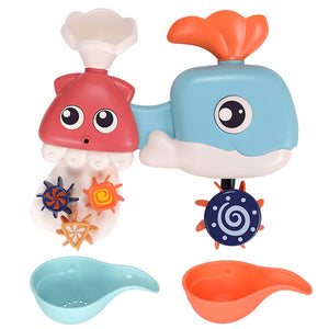 Baby Bath Wall Suction Games Set