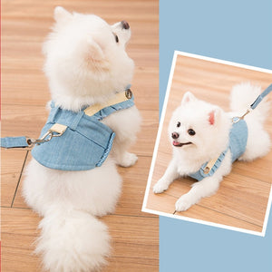 Cute Dog chest strap