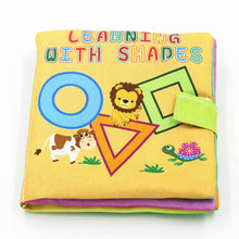 Load image into Gallery viewer, Soft Cloth Books Infant Educational Toy