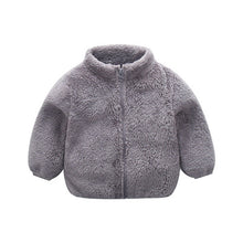 Load image into Gallery viewer, Long Sleeve Zipper Baby Winter Clothes
