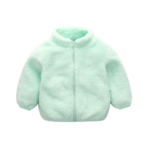 Long Sleeve Zipper Baby Winter Clothes