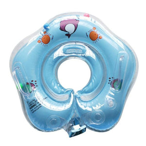 Inflatable Swimming Safety Neck Baby Tube Ring