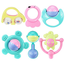 Load image into Gallery viewer, 6Pcs/set Baby Teether Rattles Toy