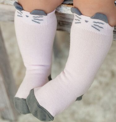 Mouse Cat Baby Socks