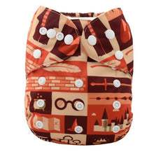 Load image into Gallery viewer, Washable Baby Pocket Cloth Diaper