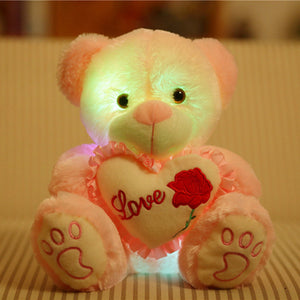Colorful LED Bear Plush Toy