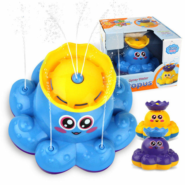 Electric Rotating Spraying Water ship Toy